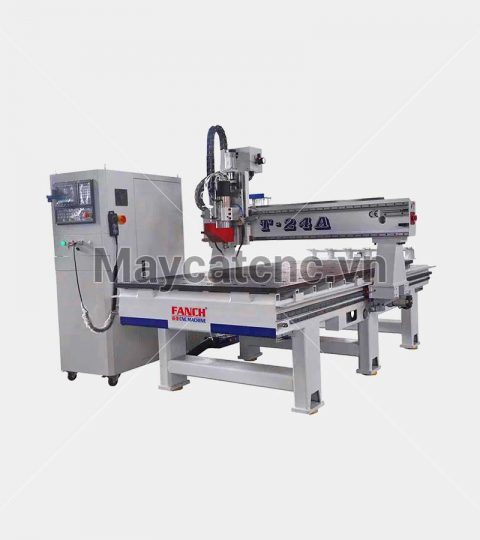 may cnc thay dao tu dong Fanch T-24A